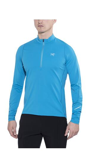 Arc'teryx Accelerator LS Zip Neck Men Adriatic Blue